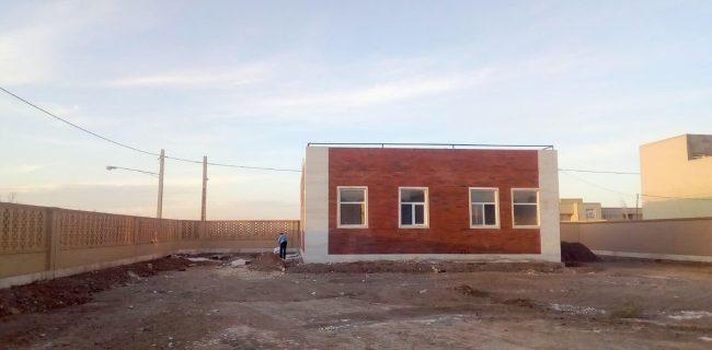 ساختمان جدید خانه بهداشت ابراهیم آباد افتتاح می شود