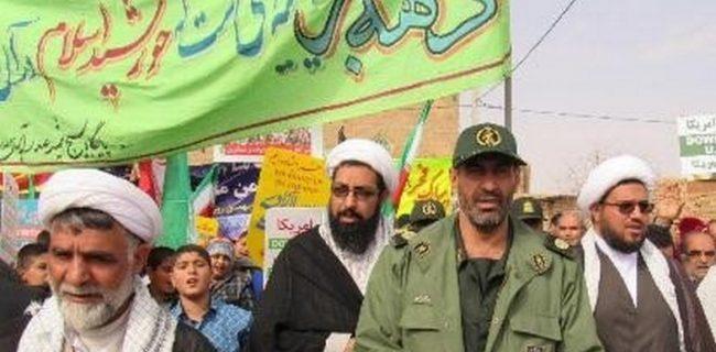 راهپیمائی سالگرد انقلاب در شرف آباد رستاق برگزار می شود