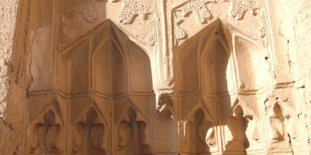 رد پای معماری دوران آل مظفر در عز آباد رستاق