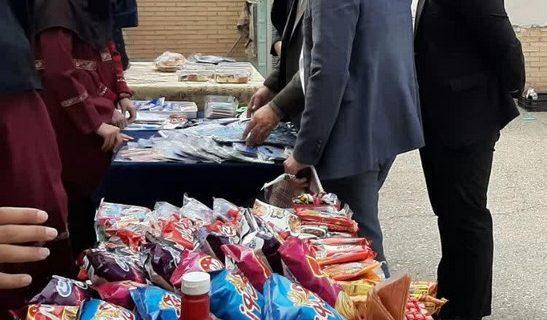 برپائی بازارچه کسب و کار همراه با جشنواره غذائی در شمسی رستاق