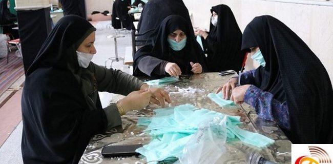 روزانه ۴ هزار ماسک در شهرستان اشکذر تولید می شود