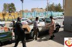 توزیع ۸۶ بسته غذایی بین اقشار نیازمند شهرستان اشکذر