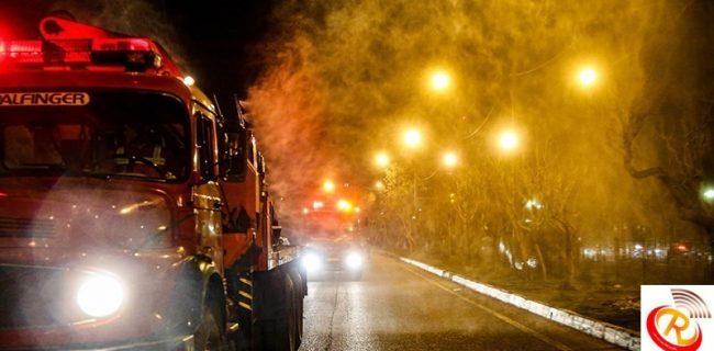 امشب معابر اصلی در اشکذر، فیروزآباد و رضوانشهرضدعفونی می شود