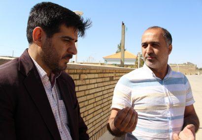 تلاش شورا و دهیاری برای احداث سالن ورزشی درحسن آباد رستاق