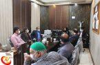 نشست آموزشی و توجیهی دهیاران رستاق با موضوع کورنا برگزارشد .