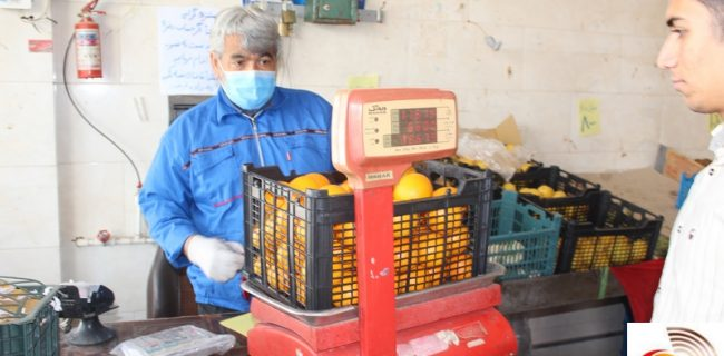 آغاز توزیع میوه تنظیم بازار دررستاق