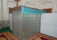 چه کسی در گنبد تاج ابراهیم آباد مدفون است ؟