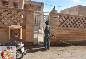 گندزدایی و ضد عفونی روستای شرف آباد