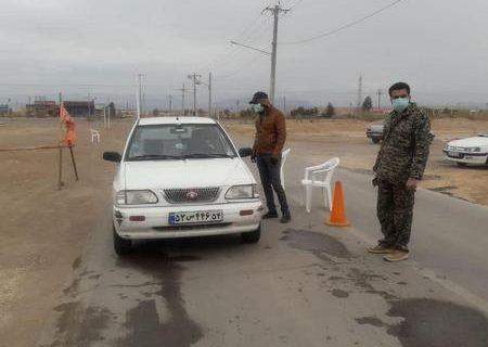 تدوام محدودیت رفت و آمد در ورودی های شهرستان اشکذر تا ۳۰ فروردین