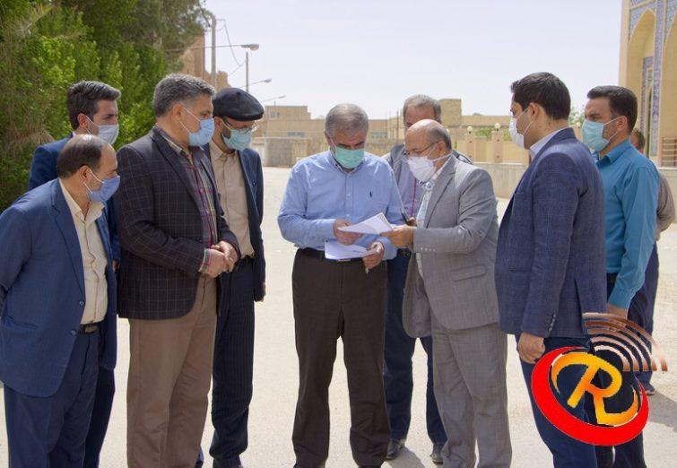 بازدید دکتر جوکار از روستای عزآباد