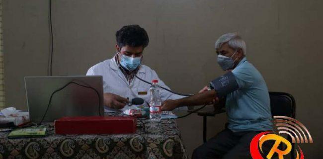 ویزیت رایگان بیماران رستاقی در طرح راه سلامت